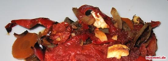 Briami griechisches Ofengemüse