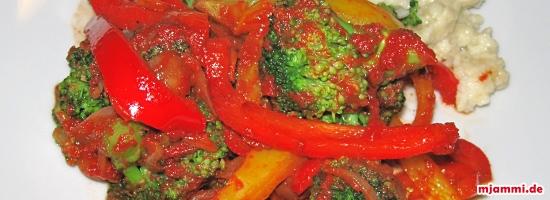 Ινδική τηγανιά λαχανικών