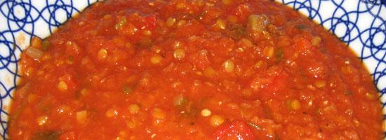 Red Lentil Chilie