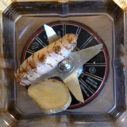 1 Scheibe Ingwer 1 kleine Zehe Curcuma in Bio-Qualität